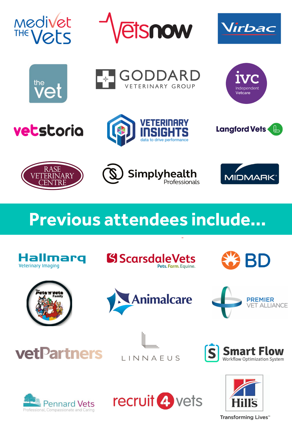 vets, veterinary, vet group, event